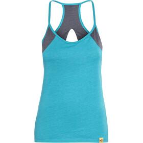 Millet LD El Cap Mouwloos Shirt Dames, h blue bird/h tarmac